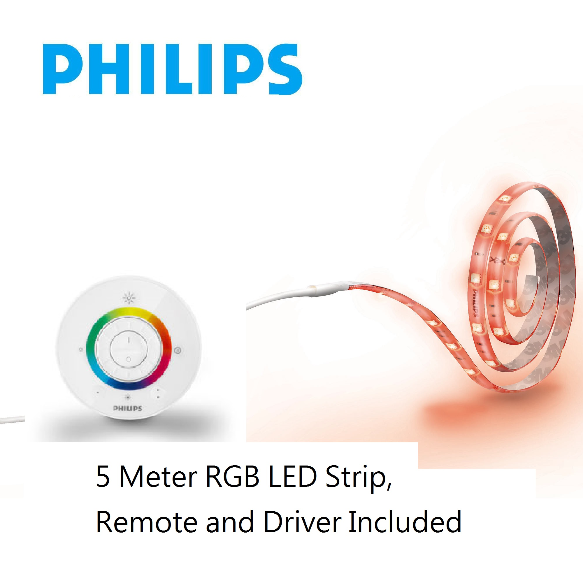 PHILIPS LED燈帶 30904/30W/5M RGB可調色
